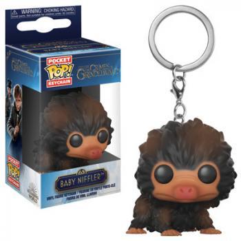 Fantastic Beast 2 POP! Key Chain - Baby Niffler (Brown)