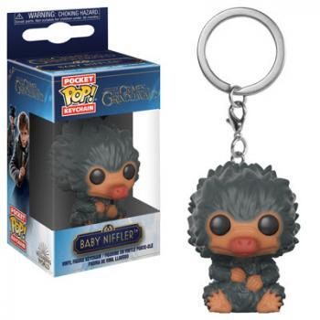 Fantastic Beast 2 POP! Key Chain - Baby Niffler (Gray)