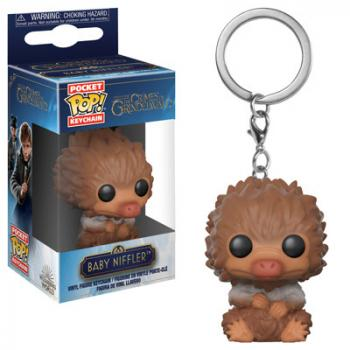 Fantastic Beast 2 POP! Key Chain - Baby Niffler (Tan Multi)