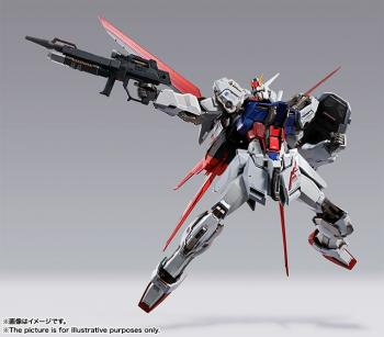 Gundam Seed Metal Build Action Figure - Aile Strike Gundam