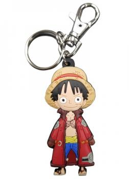 One Piece Key Chain - SD Luffy Long Coat