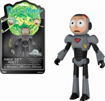 Rick and Morty Action Figure - Morty (Purge Suit)