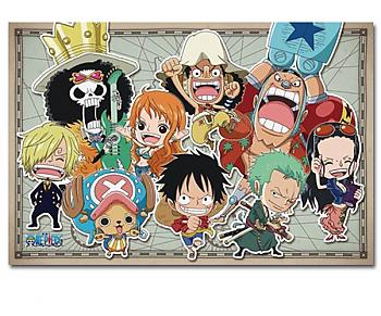 One Piece Puzzle - SD New World Straw Hat Pirates (Glow in the Dark)