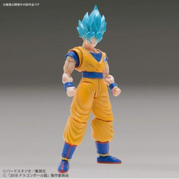 Dragon Ball Super: SSB Goku (Special Color Ver.) Figure-rise Standard Model Kit