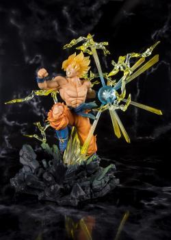 Dragon Ball Z FiguartsZERO Action Figure - Super Saiyan Son Goku (The Burning Battles)