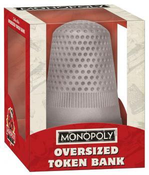 Monopoly: Thimble Oversized Token Figure Bank