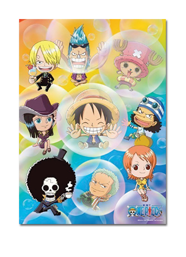 One Piece Puzzle - SD Straw Hat Pirates Bubbles (520pc ...