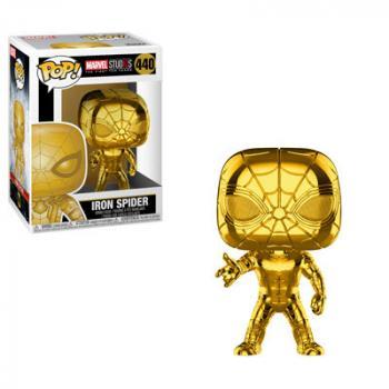 Marvel Studios 10th POP! Vinyl Figure - Iron Spider (Gold Chrome)