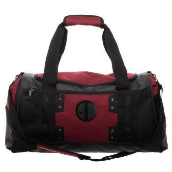 Deadpool Dufflebag - Black and Red