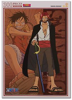 One Piece Puzzle - Shanks & Luffy (300pc)