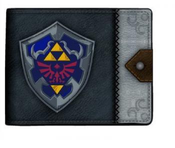 Zelda Bi-Fold Wallet - Hylian Shield