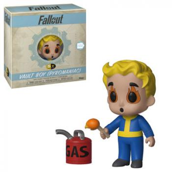 Fallout 5 Star Action Figure - Vault Boy (Pyromaniac)