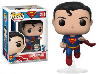 Superman POP! Vinyl Figure - Superman Flying (80th Anniversary) (Specialty Series)