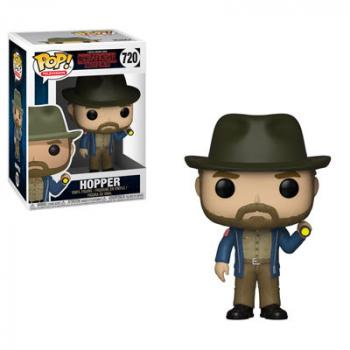 Stranger Things POP! Vinyl Figure - Hopper w/ Flashlight