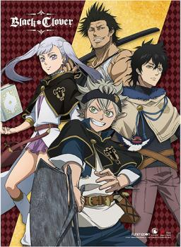 Black Clover Wall Scroll - Key Art 2