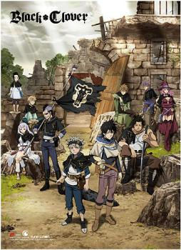 Black Clover Wall Scroll - Key Art
