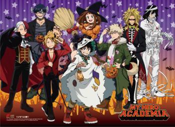 My Hero Academia Wall Scroll - Halloween [LONG]