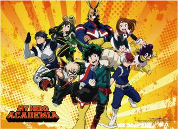 My Hero Academia Wall Scroll - S2 Heros Key Art [LONG]