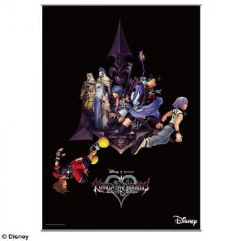 Kingdom Hearts 2.8 Wall Scroll - Key Art