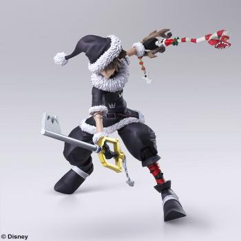 Kingdom Hearts III Bring Arts Action Figure - Sora (Christmas Town)