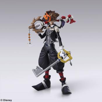 Kingdom Hearts III Bring Arts Action Figure - Sora (Halloween Town)