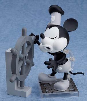 Mickey Mouse Nendoroid - Steamboat Willie Mickey Mouse 1928 Ver (B&W) Action Figure