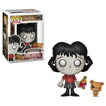 Don't Starve POP! Vinyl Figure - Willow w/ Bernie