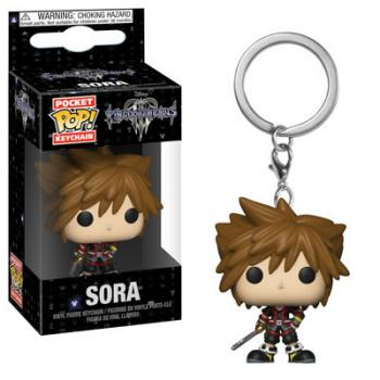 Kingdom Hearts 3 Pocket POP! Key Chain - Sora