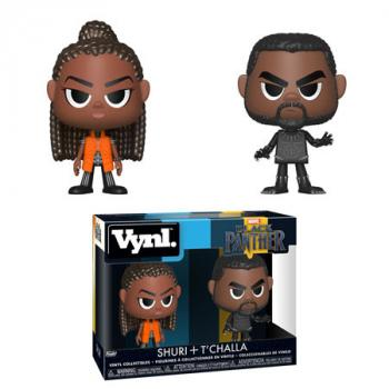 Black Panther Vynl. Figure - Shuri & T'Challa (2-Pack)