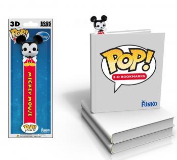Mickey Mouse 3D POP! Vinyl Bookmark (Disney)