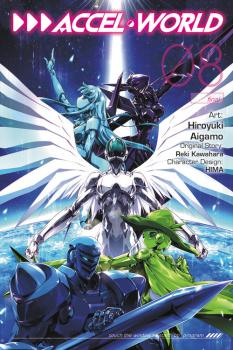 Accel World Manga Vol. 8