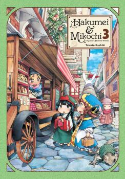 Hakumei & Mikochi Manga Vol. 3 - Tiny Little Life in the Woods