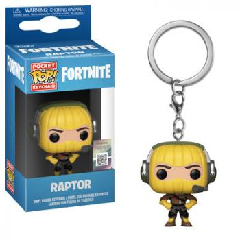 Fortnite Pocket POP! Key Chain - Raptor