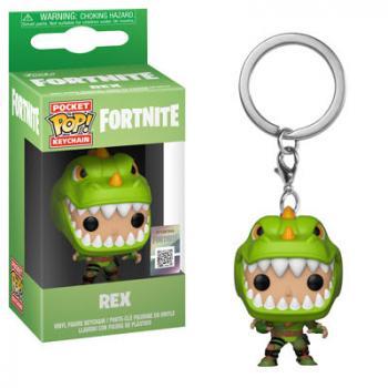 Fortnite Pocket POP! Key Chain - Rex