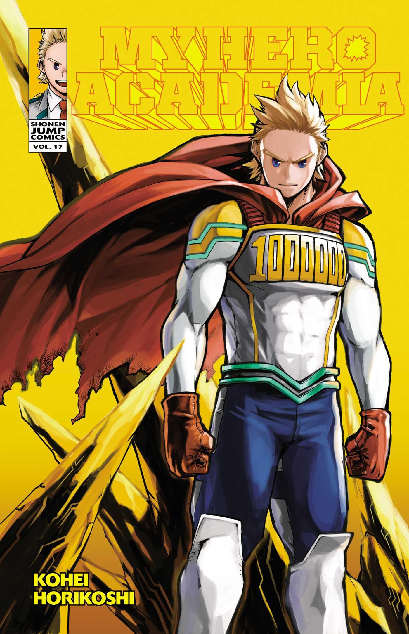 My Hero Academia Manga Vol. 17 @Archonia_US
