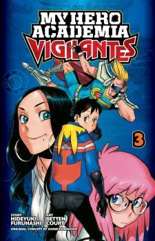 My Hero Academia Vigilantes Manga Vol. 3