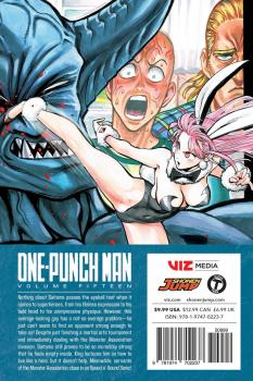 One-Punch Man Manga Vol. 15