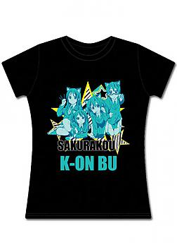 K-ON! T-Shirt - Kittens (Junior S)