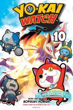 Yo-kai Watch Manga Vol. 10