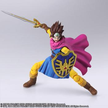 Dragon Quest III Bring Arts Action Figure - Hero (The Seeds of Salvation)