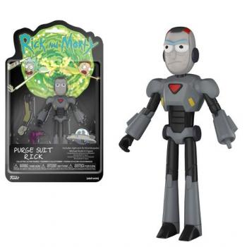 Rick and Morty Action Figure - Rick (Purge Suit)