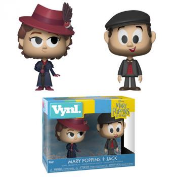 Mary Poppins 2018 Vynl. Figure - Mary Poppins & Jack the Lamplighter (2-Pack) (Disney)