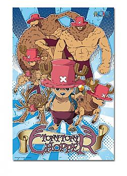 One Piece Puzzle - Tony Tony Chopper Forms (300pc)