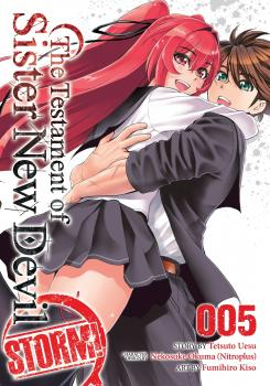 Testament of Sister New Devil STORM! Manga Vol. 5