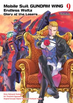 Gundam Wing Manga Vol. 9 - Glory of The Losers