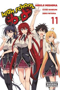 High School DxD Manga Vol. 11