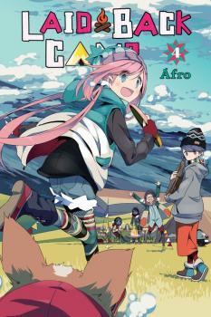 Laid-Back Camp Manga Vol. 4