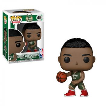 NBA Stars POP! Vinyl Figure - Giannis Antetokounmpo (Bucks)
