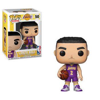 NBA Stars POP! Vinyl Figure - Lonzo Ball (Lakers)