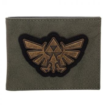 Zelda Bi-Fold Wallet - Distressed Triforce